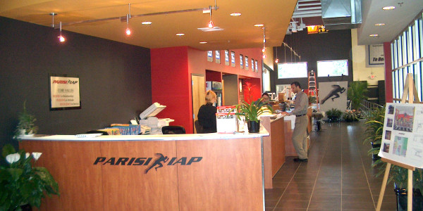 IAP Sports Front Desk and Reception