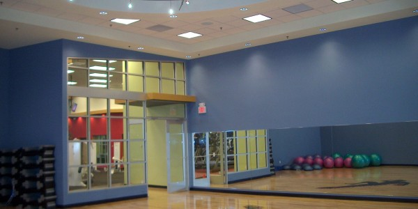 IAP Sports Group Fitness Room