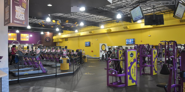 Planet Fitness (Flemington) – Cardio and Circuit Training Area