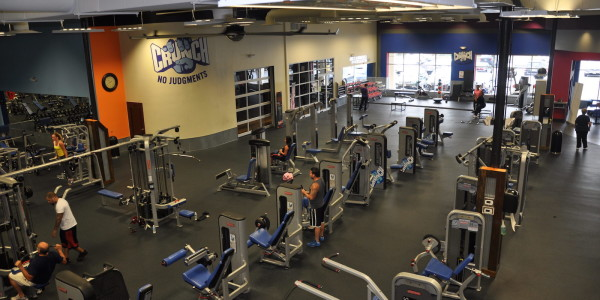 Crunch Fitness (Garwood) – Circuit Training