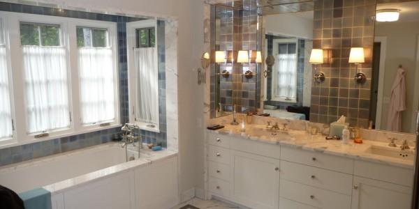 View of master bathroom – Chatam Bath Reno