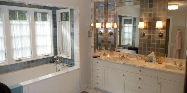 View of master bathroom – Chatam Bath Reno