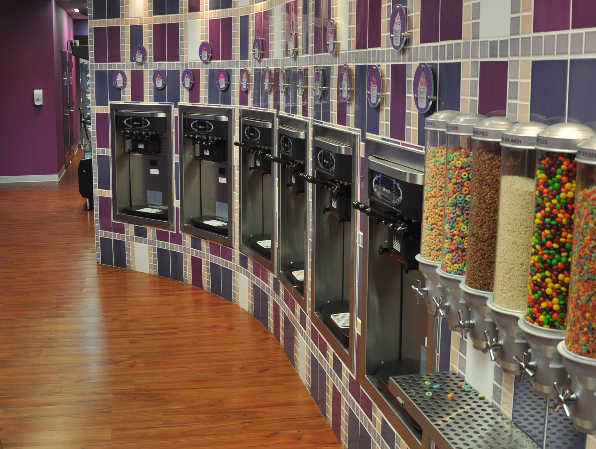 Yo-Delight Yogurt Dispensers