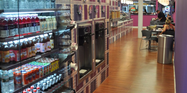 Yo-Delight Beverage Display and Yogurt Dispensers