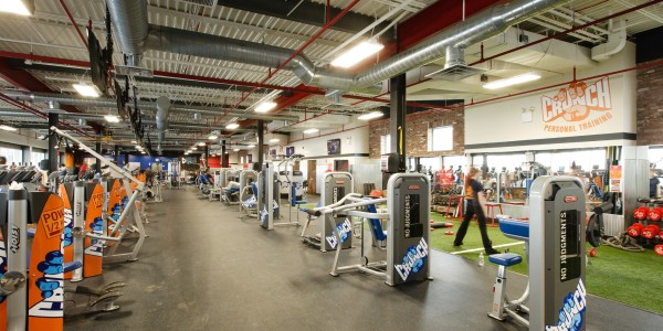 Crunch Fitness (Staten Island) – Circuit and Functional Training