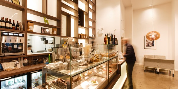 View of Display Counter – FIKA