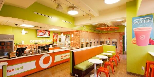 Orange Leaf Yogurt Service Counter – 345 Adams St
