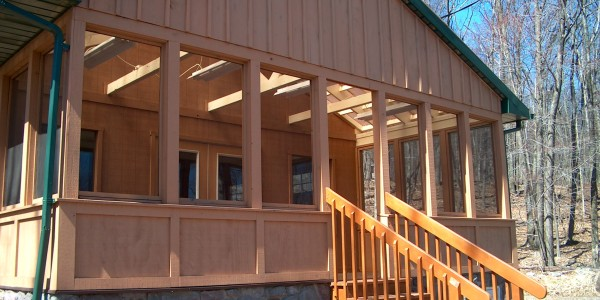 Exterior Closeup of Hobby House