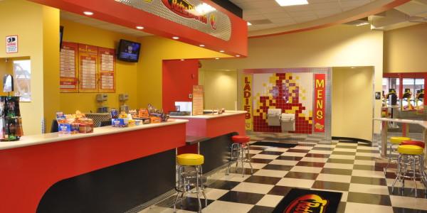 Retro Fitness (Manassas) – Locker Room Entry and Juice Bar