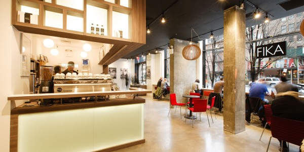 View of Barrista Station – FIKA