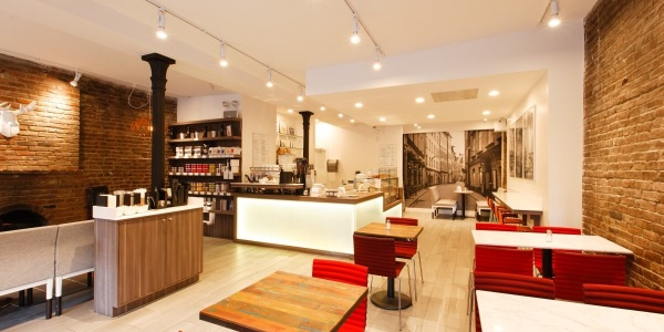 FIKA interior – 180 9th Ave