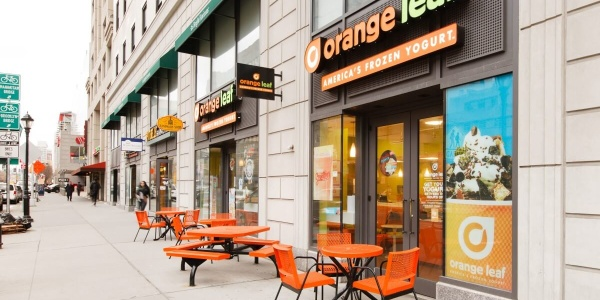 Orange Leaf Yogurt Exterior – 345 Adams St